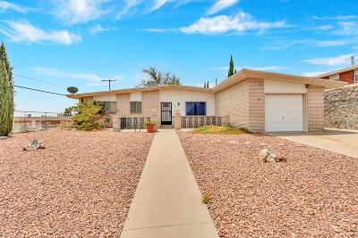 El Paso Single Family Home For Sale: 3640 Olympic Avenue