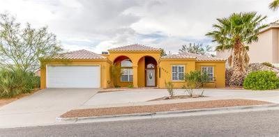 El Paso Single Family Home For Sale: 6809 Pearl Ridge Drive