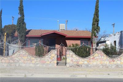 El Paso Single Family Home For Sale: 3101 Sacramento Avenue #1&2