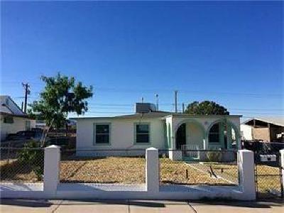 El Paso TX Single Family Home For Sale: $104,700