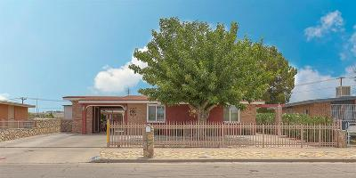 El Paso TX Single Family Home For Sale: $107,000