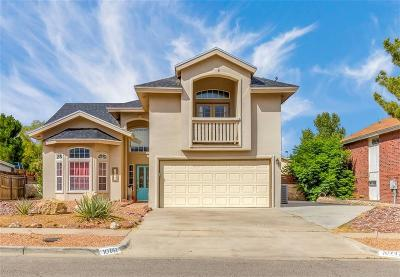 El Paso Single Family Home For Sale: 10747 White Sands Drive