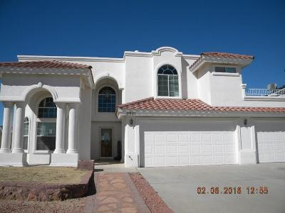 El Paso Single Family Home For Sale: 2071 Sun Gate