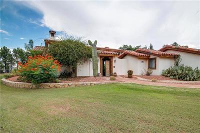 Socorro Single Family Home For Sale: 3 Via Placita