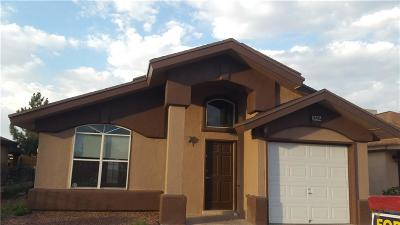 Socorro Single Family Home For Sale: 10405 Valle Suave