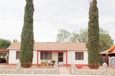 El Paso Single Family Home For Sale: 7612 Matamoros Drive