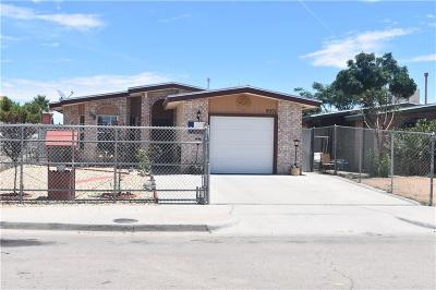 Socorro Single Family Home For Sale: 9571 Antilles Place