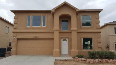Horizon City Single Family Home For Sale: 14024 Warren Belin Drive