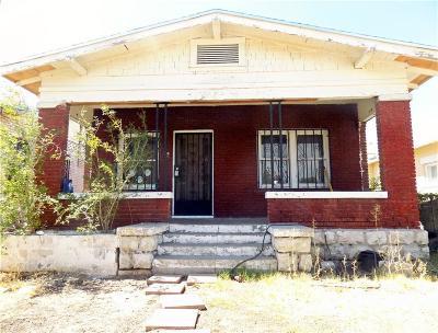 Single Family Home For Sale: 3814 Hueco Avenue