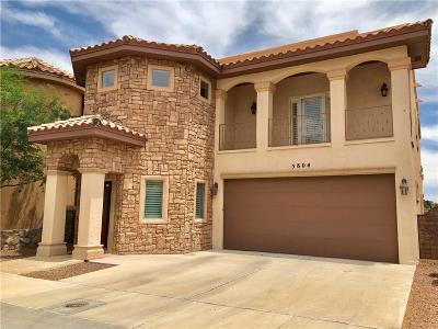 El Paso Single Family Home For Sale: 5804 Teresa Del Mar