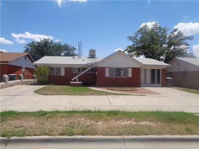 El Paso Single Family Home For Sale: 5808 Dolphin Drive