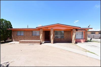 El Paso Single Family Home For Sale: 7128 Granite Road