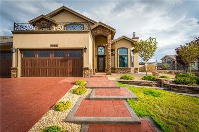 El Paso Single Family Home For Sale: 400 La Puesta Drive