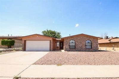 El Paso Single Family Home For Sale: 7768 Iroquois Drive
