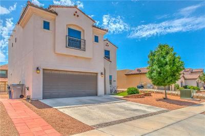 El Paso Single Family Home For Sale: 3166 Sarina Circle