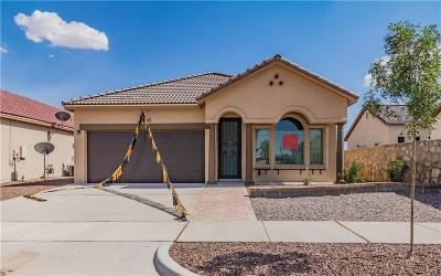 Horizon City Single Family Home For Sale: 13590 Bradford Street