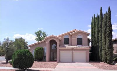 El Paso TX Single Family Home For Sale: $209,500