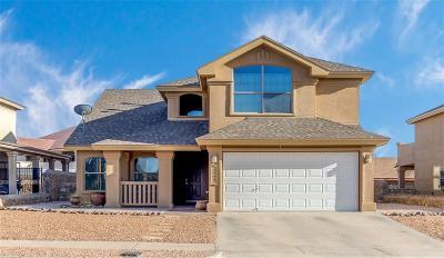 El Paso TX Single Family Home For Sale: $212,950