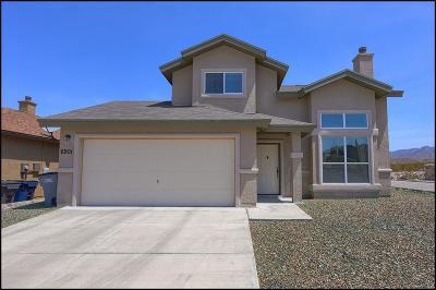 El Paso Single Family Home For Sale: 6901 Inca Dove