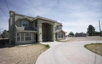 Socorro Single Family Home For Sale: 491 El Salto Drive