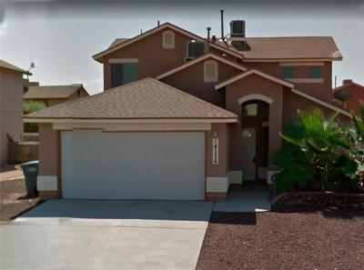 El Paso Single Family Home For Sale: 14176 Smokey Point Drive