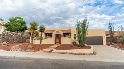 El Paso Single Family Home For Sale: 1008 Calle Parque Drive