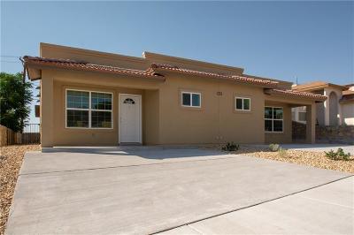 El Paso Single Family Home For Sale: 233 Atlantic Road #A