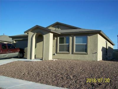 Horizon City Single Family Home For Sale: 14516 Escalera Drive