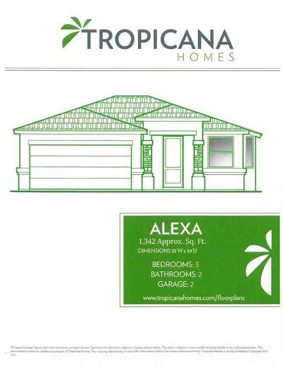 Horizon City Single Family Home For Sale: 13232 Emerald Hills Street