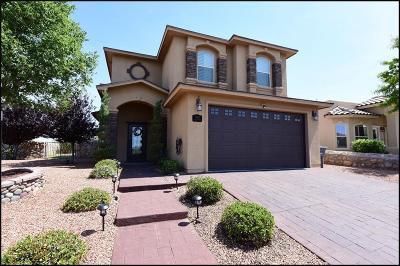 El Paso Single Family Home For Sale: 7445 Brays Landing Drive