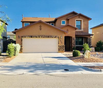 El Paso Single Family Home For Sale: 7332 Meadow Sage Drive
