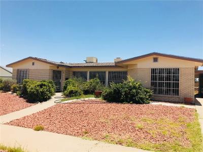 El Paso Single Family Home For Sale: 6412 Regal Lane