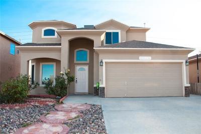 El Paso Single Family Home For Sale: 14284 Valour Point Avenue