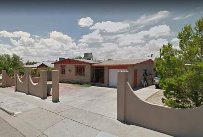 El Paso Single Family Home For Sale: 1125 Saint Johns Drive