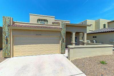 El Paso Single Family Home For Sale: 7355 Via Canutillo