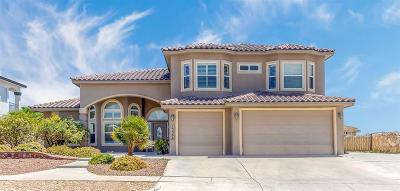 Horizon City Single Family Home For Sale: 13566 Emerald Coast Lane