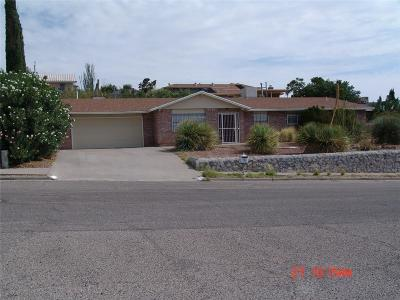 El Paso Single Family Home For Sale: 7750 Gran Quivira Drive