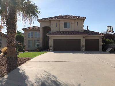 El Paso Single Family Home For Sale: 1628 Quinta Del Sol Court