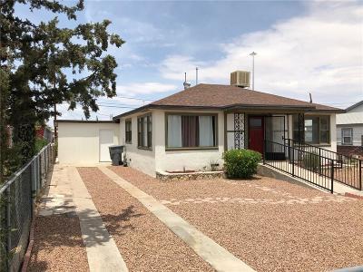El Paso Single Family Home For Sale: 5637 Joyce Circle