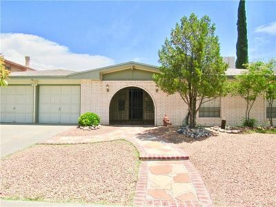 El Paso Single Family Home For Sale: 3132 Vogue Drive