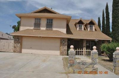 El Paso Single Family Home For Sale: 2009 Ralph Janes Place