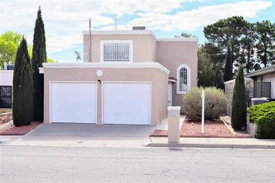 El Paso Single Family Home For Sale: 6908 Ridgley