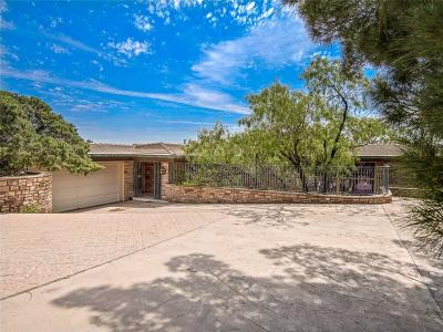 El Paso Single Family Home For Sale: 2304 Red Bluff Road