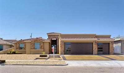 El Paso Single Family Home For Sale: 11446 Lindenwood Avenue