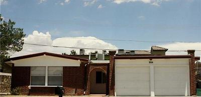 Single Family Home For Sale: 904 Oneida Drive