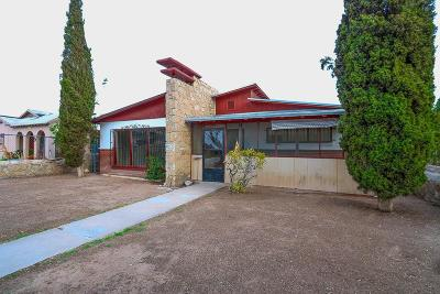 El Paso Single Family Home For Sale: 4012 Hastings Drive
