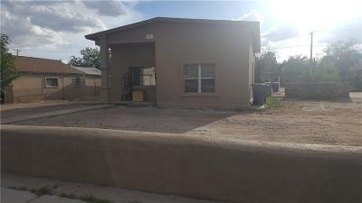 El Paso Single Family Home For Sale: 521 Gallagher Street