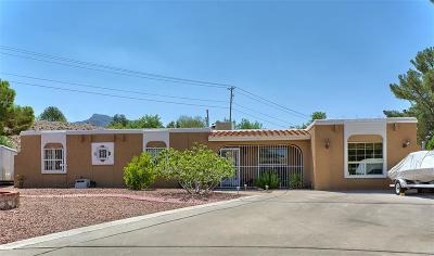 El Paso Single Family Home For Sale: 6060 Bandolero Drive