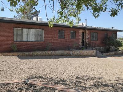 El Paso Single Family Home For Sale: 3706 San Mateo