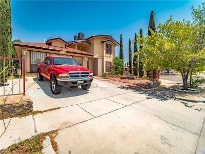 El Paso Single Family Home For Sale: 12181 Jose Cisneros Drive